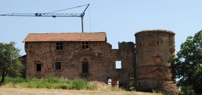 « FLANERIES BURLESQUES » au Château de Jarnosse pour Les Journées Européennes du Patrimoine. 21 et 22 septembre à 17 h