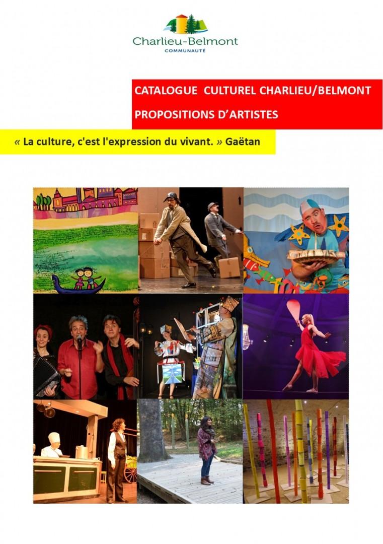 Catalogue Culturel Charlieu/Belmont 2020